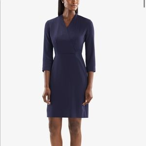 M.M. Lafleur Niko Dress - Deep Indigo - 6 NWOT
